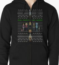 Rick and Morty Family Portrait Zipped Hoodie
