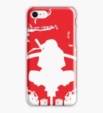 red moon iPhone Case/Skin