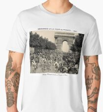TOUR DE FRANCE: Vintage Arc de Triomphe Men's Premium T-Shirt