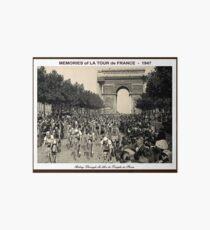 TOUR DE FRANCE: Vintage Arc de Triomphe Art Board