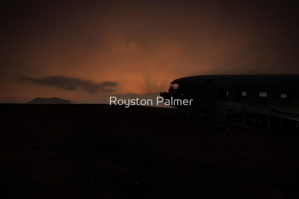 Iceland - Sólheimasandur DC3 Sunrise by Royston Palmer