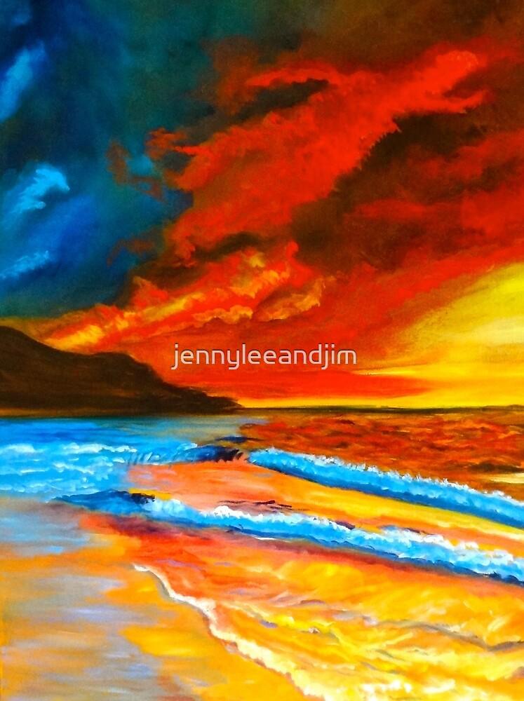 Sunset Hawaii by jennyleeandjim