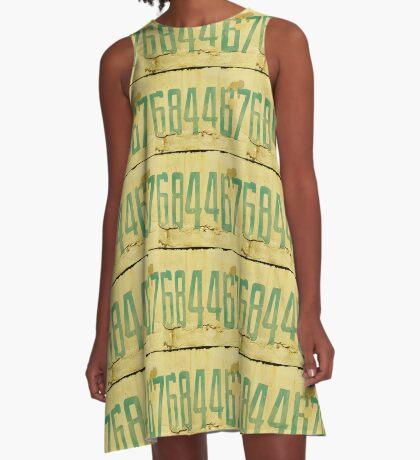 The Secret Code A-Line Dress