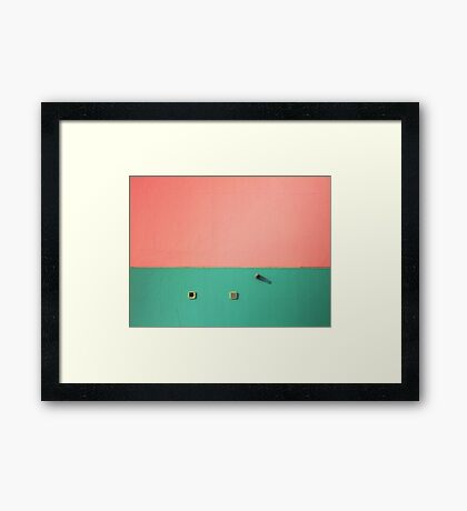 I had something to tell you Framed Print