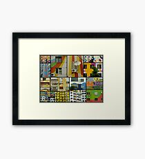 Tirana Collage Framed Print