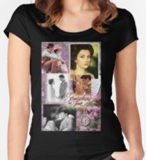 Elises Somewhere In Time  Women's Fitted Scoop T-Shirt