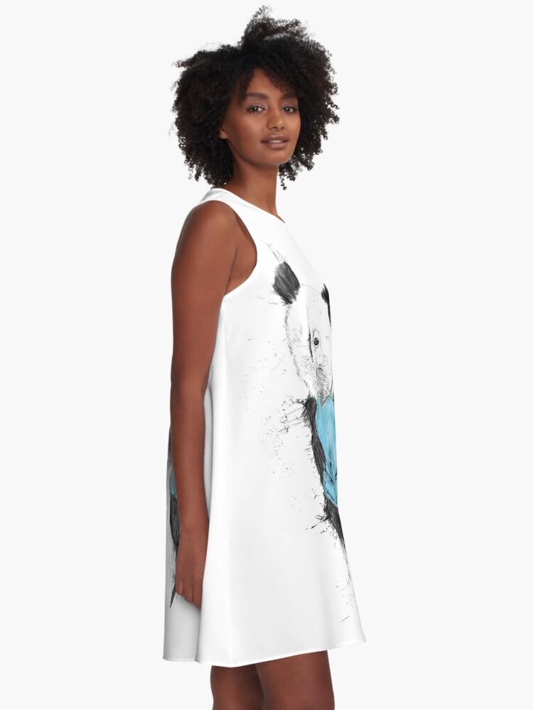 Alternative Ansicht von der Gewinner A-Linien Kleid