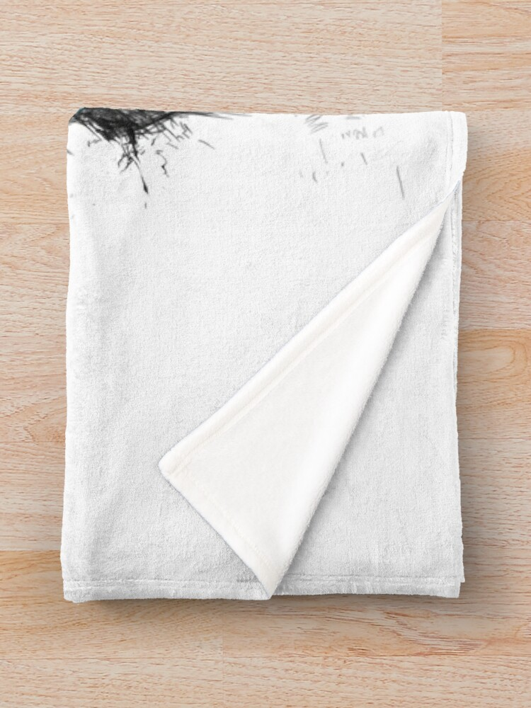 Alternate view of the winner Throw Blanket
