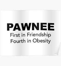 Pawnee - Parks and Recreation Poster