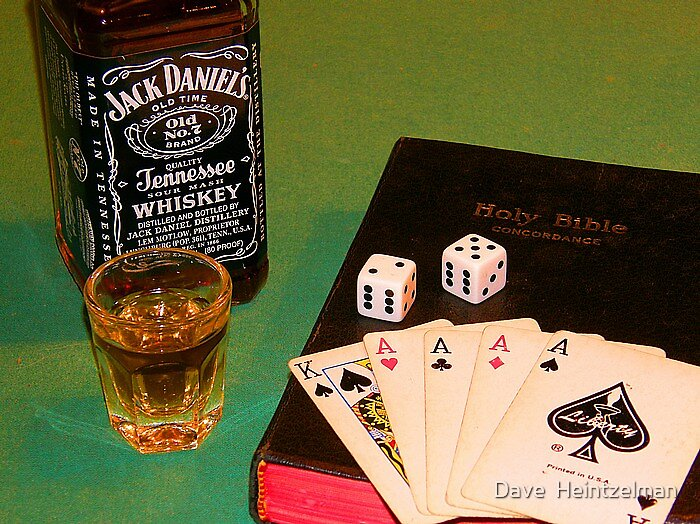 IS IT WORTH THE GAMBLE? by Dave  Heintzelman