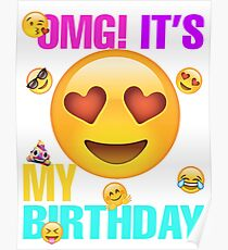 Birthday Emoji Posters