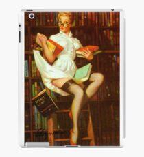 Gil Elvgren Pin Up Librarian iPad Case/Skin