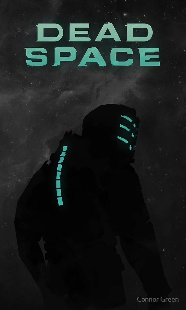 Dead Space - Minimalistic Style Art Work by Connor Green