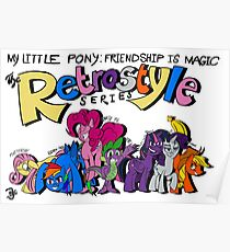 My Little Pony: Friendship is Magic-The Retrostyle Series Poster