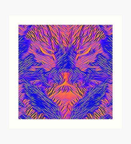 Catishhhhhhh bat Art Print