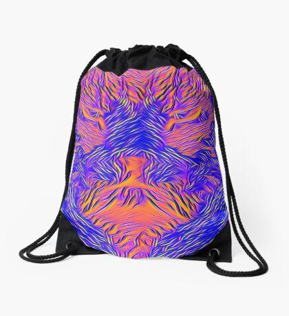 Catishhhhhhh bat Drawstring Bag