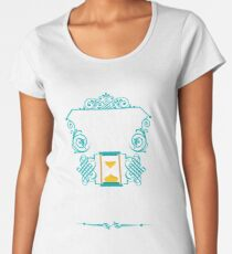 Ticking away the moments that make up a dull day Women's Premium T-Shirt