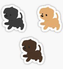 Labrador Retrievers Sticker