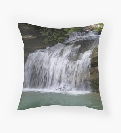 Allen/Day Falls Throw Pillow