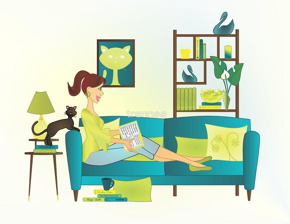 Denise's Books by trennea