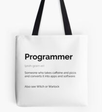 Droll - Programmer Tote Bag