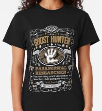Ghost Hunter Paranormal Researcher Label Classic T-Shirt