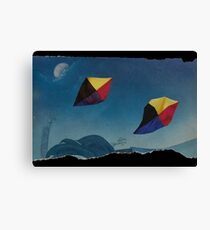 Games in the sky Canvas Print
