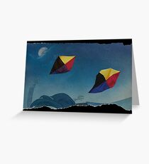 Games in the sky Greeting Card