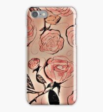 1941 Roses House of Harlequin iPhone Case/Skin
