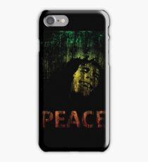 Marley Grunge Peace iPhone Case/Skin