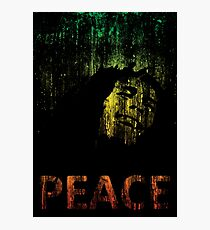 Marley Grunge Peace Photographic Print