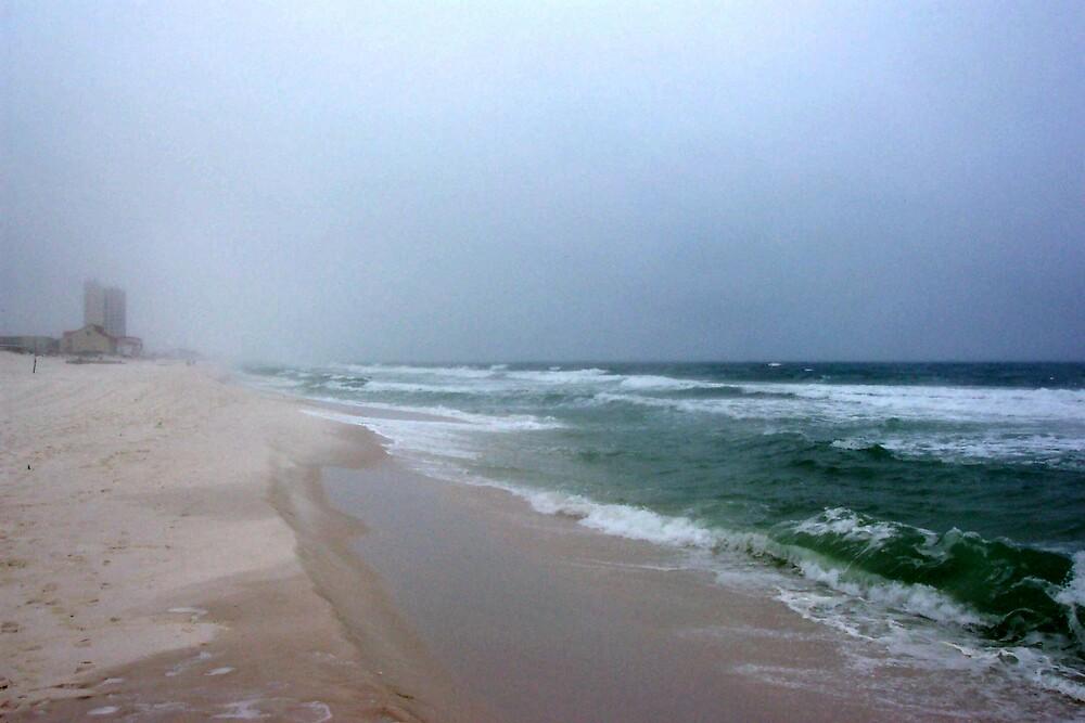 cold beach by jennart