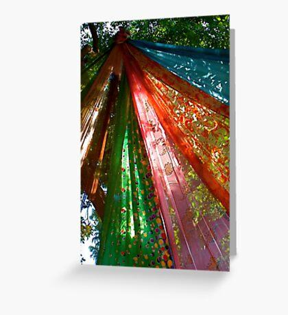 Sari Tree Greeting Card