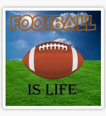 Football is life. Sticker