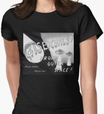 From Outer Space! Womens Fitted T-Shirt