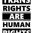 Trans Rights are Human Rights by Jay Hulme