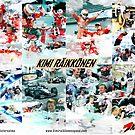 Kimi Raikkonen Career by evenstarsaima