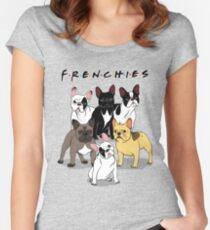 FRENCHIES Fitted Scoop T-Shirt