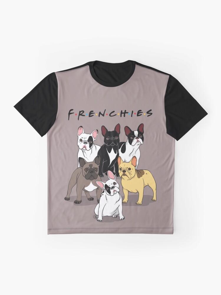 Vista alternativa de Camiseta gráfica FRENCHIES