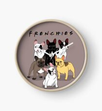 FRENCHIES Clock