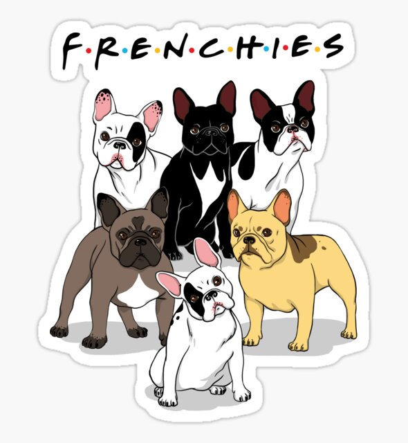 FRENCHIES by Ursula Lopez
