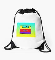 floppydisk huarache Drawstring Bag