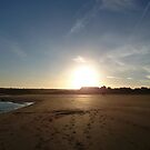 Alnmouth Sunset by Alan Rodmell