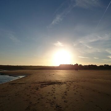 Alnmouth Sunset by arodmell