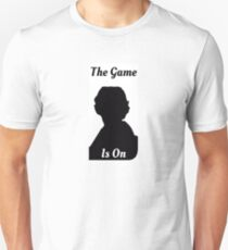 Sherlock The Game Is On Unisex T-Shirt