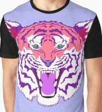 Pink Tiger Graphic T-Shirt