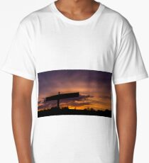 The Angel of the North Long T-Shirt