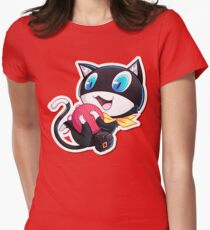 Cute Morgana Persona 5 Womens Fitted T-Shirt