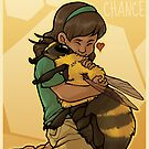 Give Bees A Chance by shazzbaa