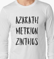 Azarath Metrion Zinthos (Alternativ) Langarmshirt
